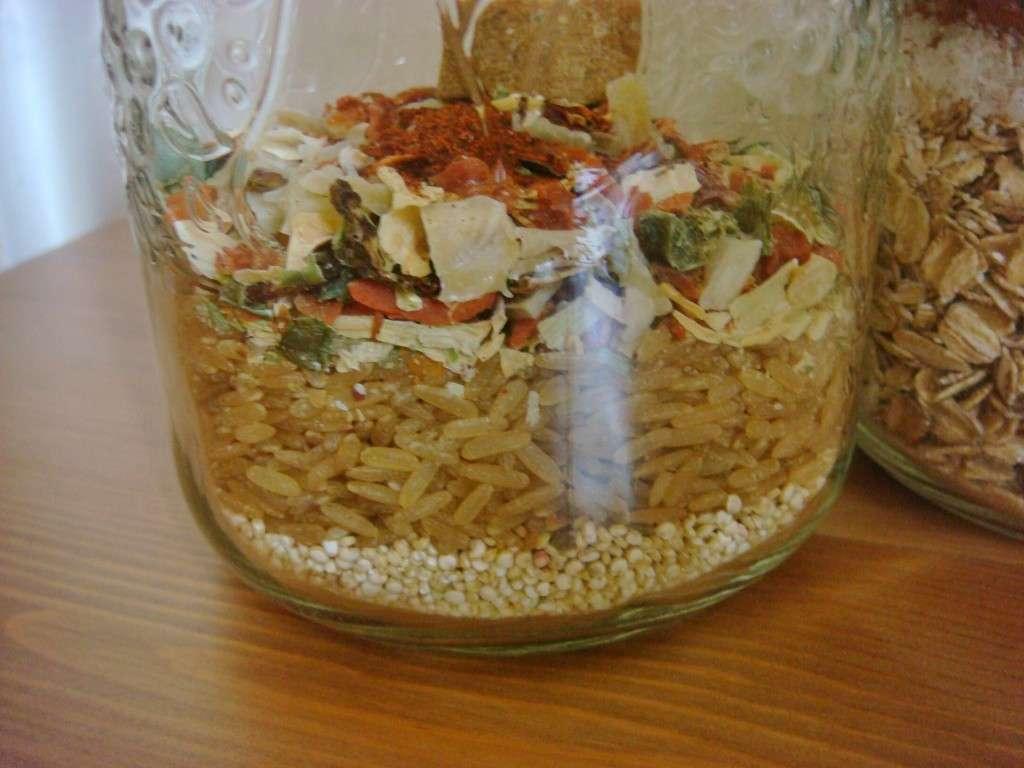 Make ahead vegan meals in jars